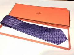 HERMES エルメス ねくたい ネクタイ 正規品