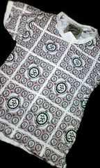 †新品††超オシャレなクシュクシュ素材Tシャツ†110