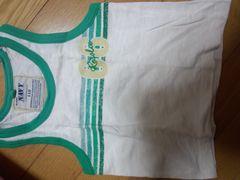 緑色系の袖なしトップス〔110�a〕