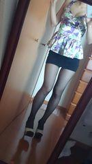 ロジータ 花柄ペプラムトップス