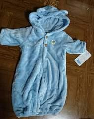 新品タグ☆もこもこくまちゃん新生児バキードレス&バギーオール