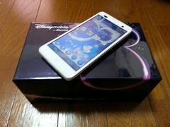 即落/即発!!美中古品 F-07E Disney Mobile ホワイト