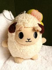 北海道札幌市豊平区ゆるキャラ めーたん ひつじ羊ヒツジ ぬいぐるみ