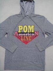 POM(ピースオンマーズ)POM BOYパイルパーカー/S アメカジ