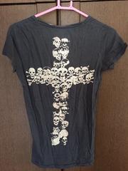 ドクロ☆Tシャツ!美品