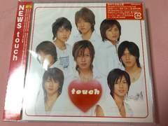 NEWS アルバム touch 初回生産限定盤 DVDフォトブックレット付
