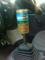 空き缶シフトノブBOSSM12×P1.25コーヒーコロンビア