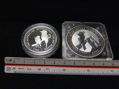 オーストラリア クッカバラ銀貨 純度999 2枚セット