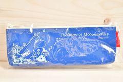 新品 ◆ ムーミン ミイ ペンポーチ ブルー ペンケース 21cm