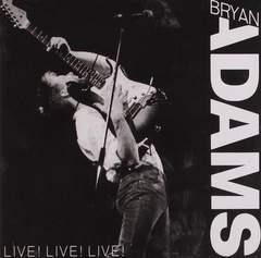ブライアンアダムス「ライブ・ベスト」日本盤