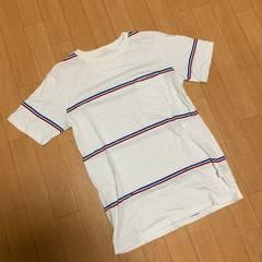 Saturdays surf nyc ポケット付き ボーダー Tシャツ