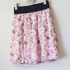 プロポーション 花柄 スカート