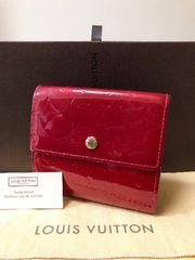 1円 ◆正規品◆ 美品 ◆ ルイヴィトン ヴェルニ Wホック 財布