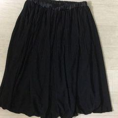 激安100スタ!新品 プリーツスカート ブラック M