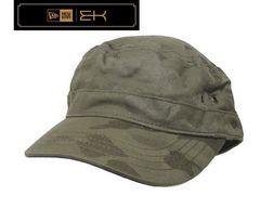 New Era EK Kinley Mlitary Como Cap 帽子 カストロ M751