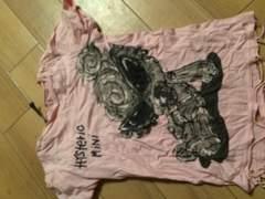 ヒスミニ★120★Tシャツ★ピンク美品
