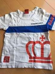 ベビードール 半袖Tシャツ 白90�p