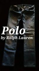 【POLO】ラルフローレン Vintage Destroyed クラシックストレートジーンズ 30/M.Wash