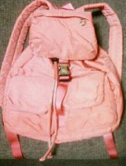 美品 バーバリー ブルーレーベル ピンク リュックサック バッグ