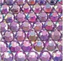 ● 5mm ● デコ用ストーン  2000粒 ライトパープル