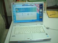 すぐ使える Vista ワイド 無線 FMV-NF40U Office2007入
