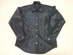 BEAMS ビームス ナイロン 長袖シャツ L 黒 セレクト 日本製