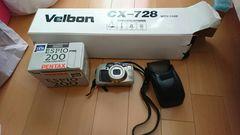 フィルムカメラ PENTAX ESPIO200+三脚。中古品。電池切れです。