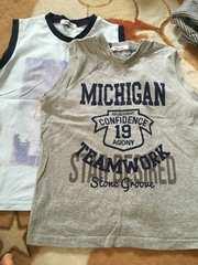 美品  ランニングTシャツ 2枚セット 140