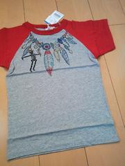 新品ネット限定ネイティブTシャツ140ジャンクストアーJUNK STORE