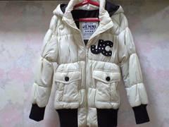 ジェニィ/JENNI☆暖かフード付きジャンパー☆130・アイボリー