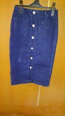 �Bデニムのスカート