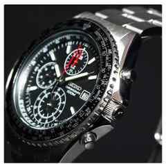 ブライトリング ナビタイマー好き必見 SEIKO 正規 メンズ 腕時計