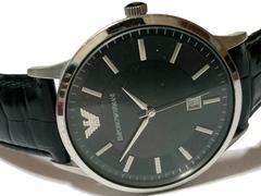 良品 1スタ★エンポリオアルマーニ【レア品】大型 メンズ腕時計