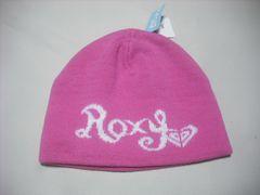 wb747 ROXY ロキシー ニット帽 ビーニー ピンク