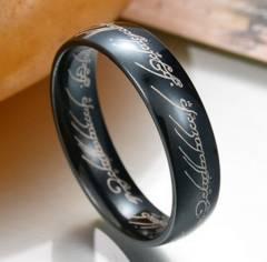 新品 1円〜★送料無料★ 18号 ステンレス鋼 ブラックリング K18BGF 指輪