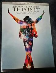 THIS IS ITマイケル・ジャクソンデラックスコレクターズエディション2枚組ポストカード付き