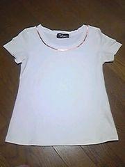セシルマクビー/Tシャツ/白/サイズ 38→M同等