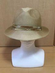 ◆美品 【CA4LA/カシラ】 ベージュ 帽子◆
