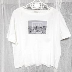 【新品】フォトプリントワイドTシャツ/アースミュージック&エコロジー