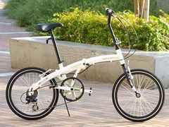 20インチアルミ折りたたみ自転車 6段変速 WeiB