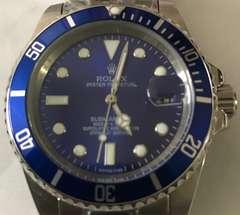 ROLEXサブマリーナー 11619LBブルー ノベルテイ 新品未使用品