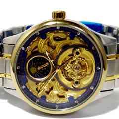 新品・未使用【箱付き】TEVISE【自動巻き】メンズ腕時計