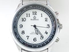 9124/MARSHALマーシャルソーラー充電式モデルメンズ腕時計電波時計