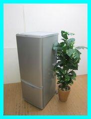 パナソニック2ドア冷蔵庫(168L・右開き)NR-B177W-Sシルバー2015年製