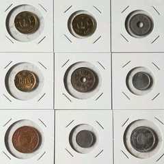 ★ 古銭 ★ 日本古銭 9枚セット 大正から昭和初期 格安 送無