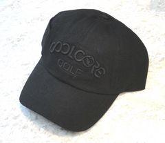 新品 COOL CORE 冷感 UVカット キャップ 帽子 黒 メンズ