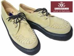 ジョージコックス新品ラバーソール3588サンド スエード厚底靴5