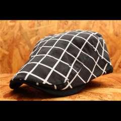 箱入り 男女兼用 ハンチング帽・キャップ 黒 PTH4-5