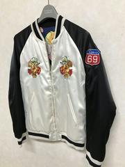 RODEO CROWNS リバーシブルスタジャン スカジャン S レア