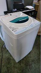 東芝 14年式 AW‐BK5GM 5kg 洗い 簡易乾燥機能付き洗濯機